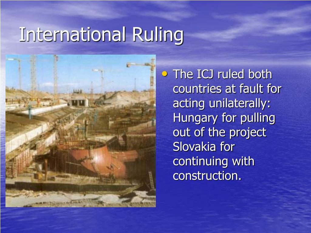 International Ruling