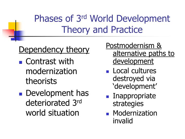 criticism of modernization theory