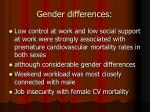 gender differences51