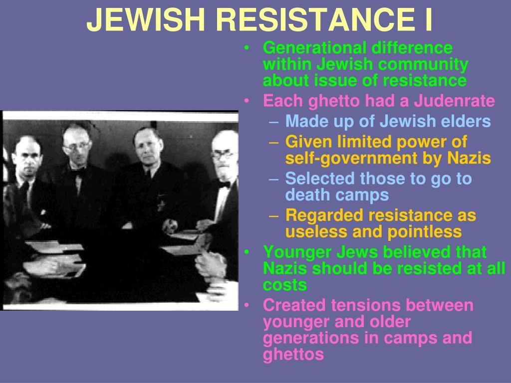 JEWISH RESISTANCE I