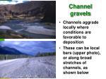 channel gravels