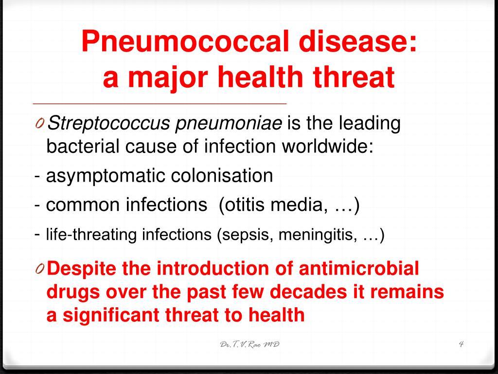 Pneumococcal disease: