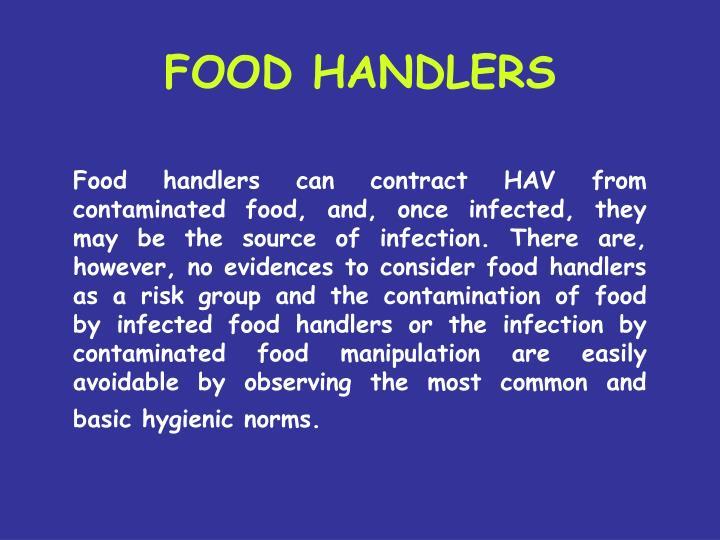 FOOD HANDLERS