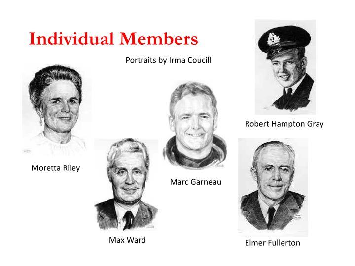 Individual Members