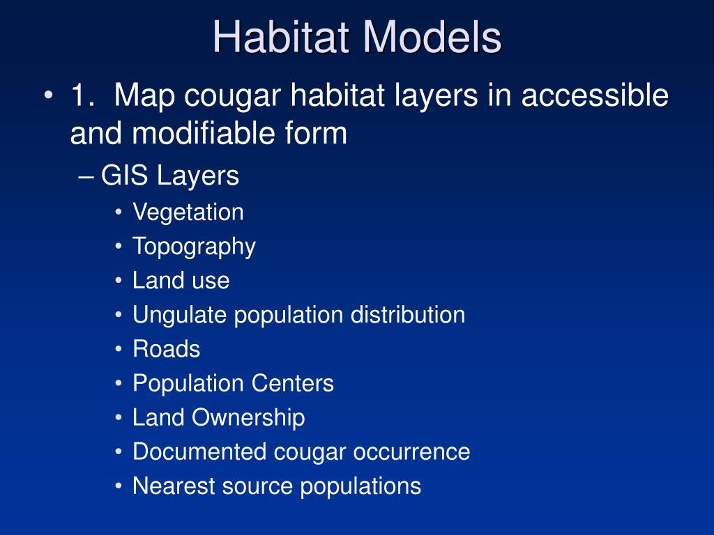 Habitat Models