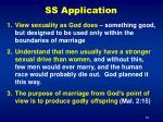 ss application