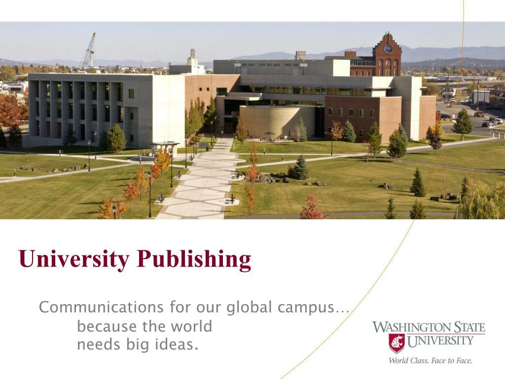 University Publishing