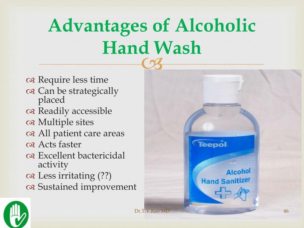 Advantages of Alcoholic Hand Wash
