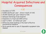 hospital acquired i nfections and consequences