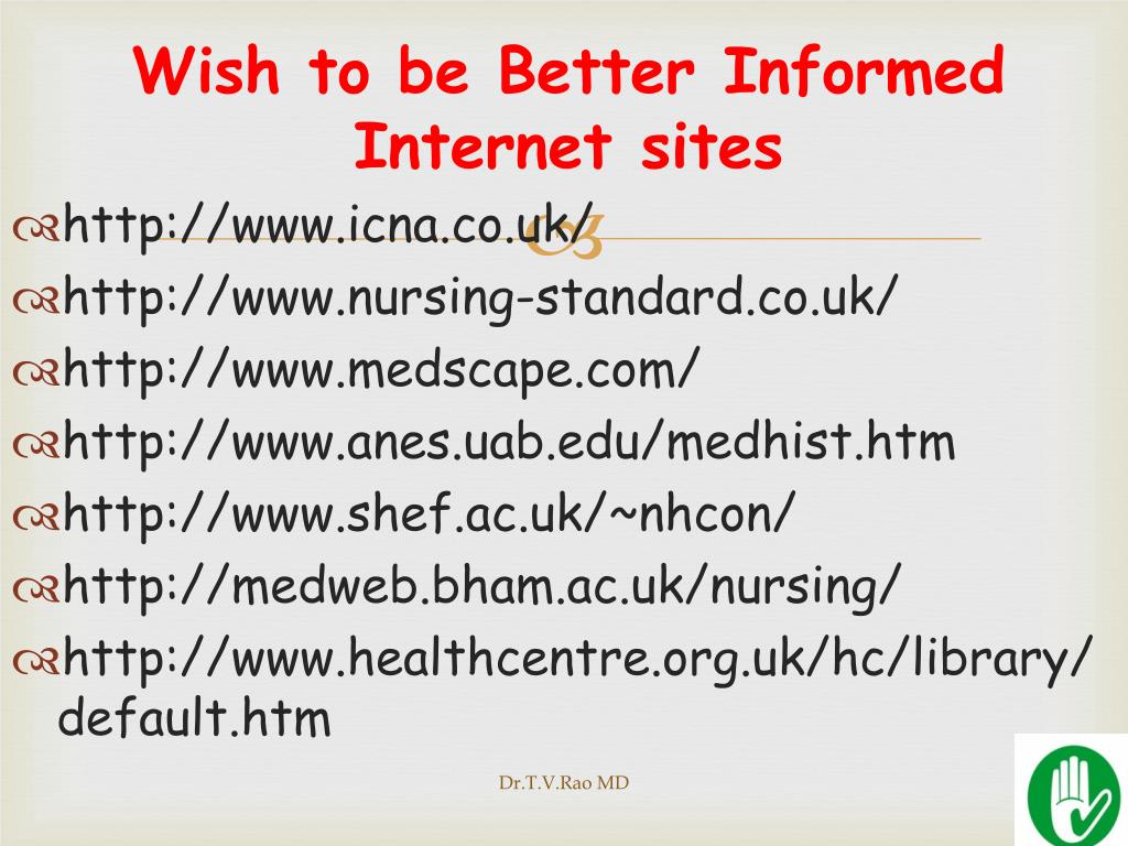 Wish to be Better Informed Internet
