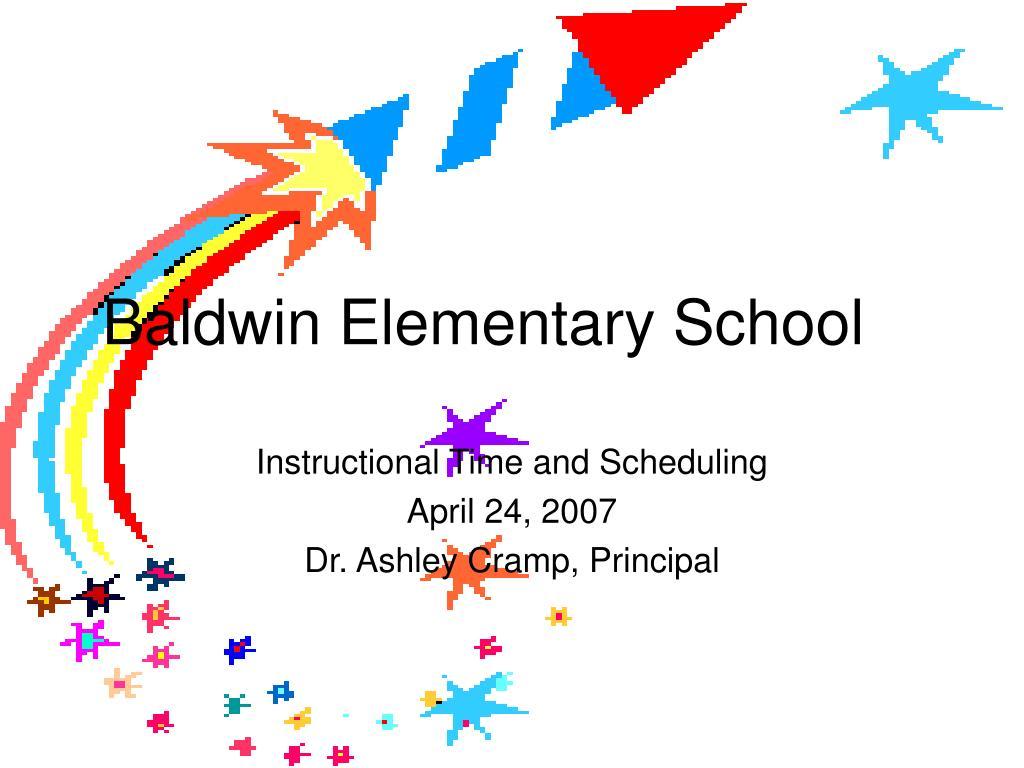 baldwin elementary school