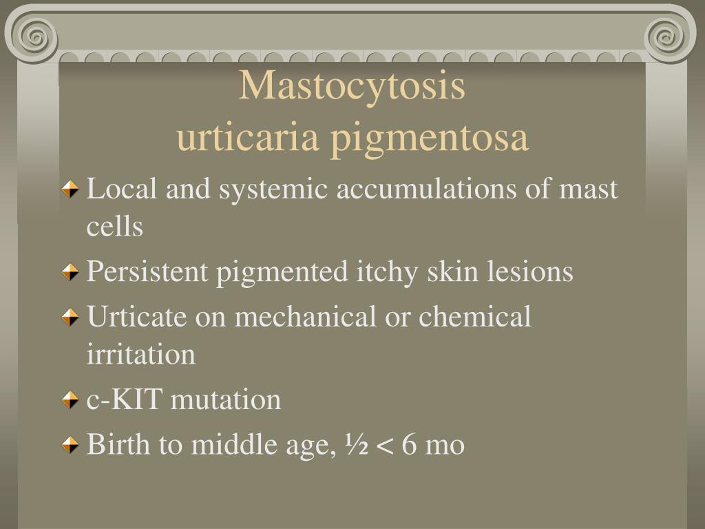 Mastocytosis