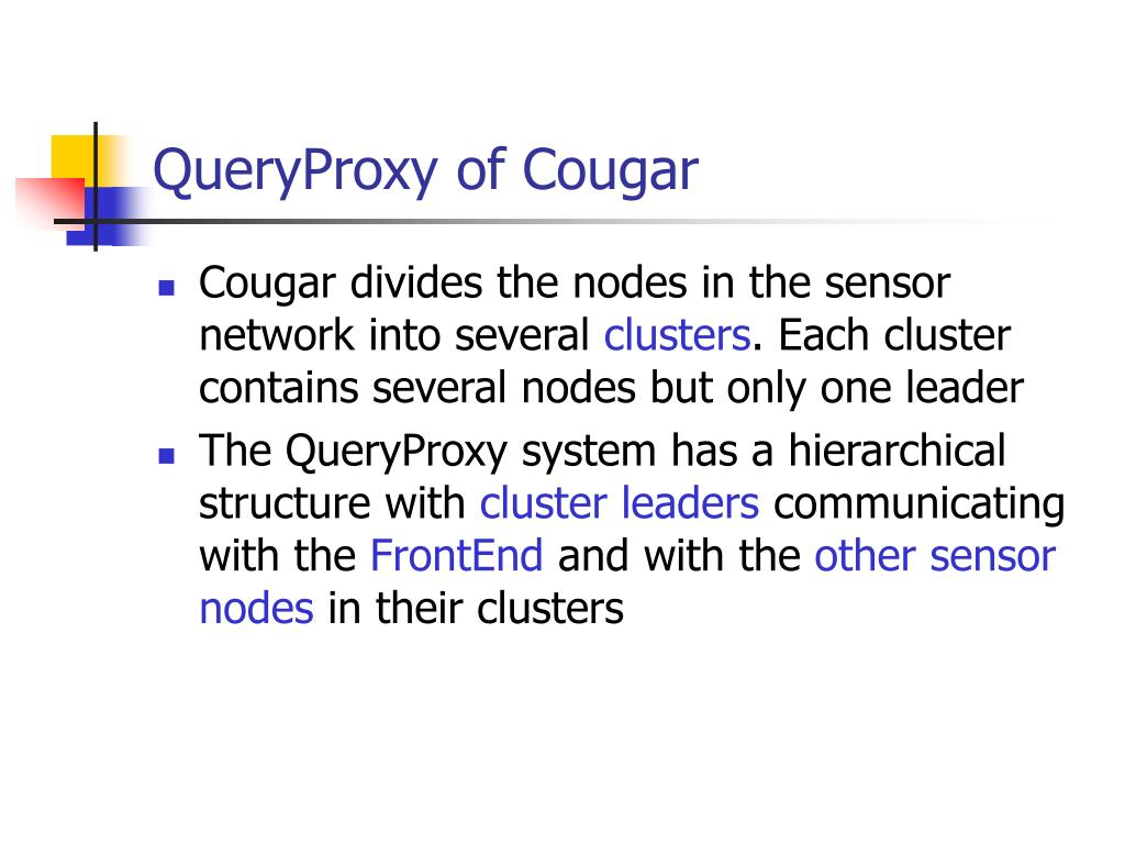 QueryProxy of Cougar