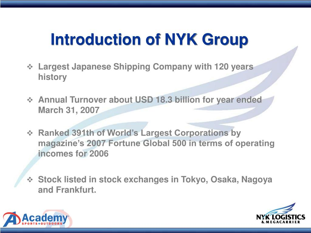 PPT - Welcome To Academy Sports + Outdoors Vendor Seminar NYK