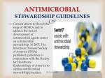 antimicrobial stewardship guidelines