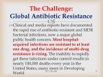 the challenge global antibiotic resistance