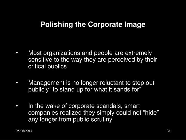 Polishing the Corporate Image