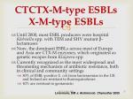 ct ctx m type esbls x m type esbls
