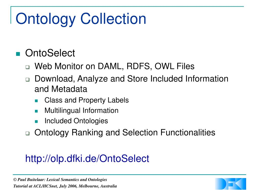Ontology Collection