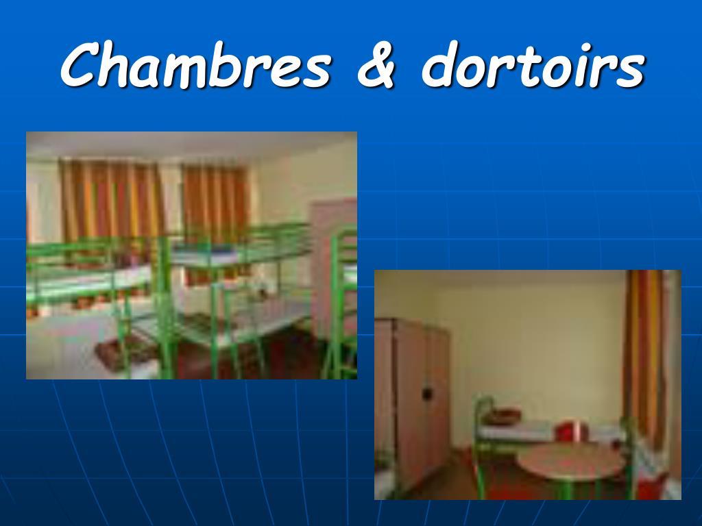 Chambres & dortoirs