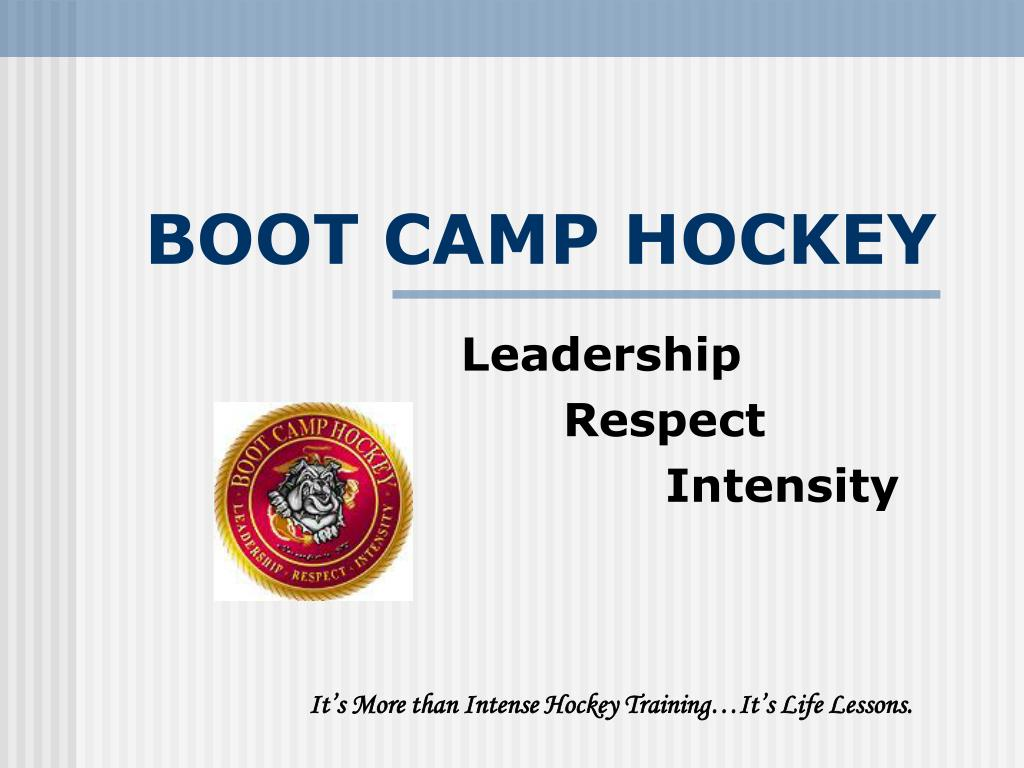 boot camp hockey l.