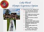 lake placid olympic experience option
