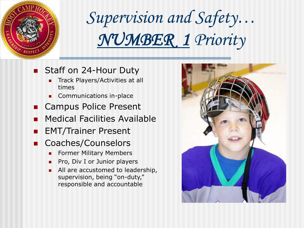 Supervision and Safety…