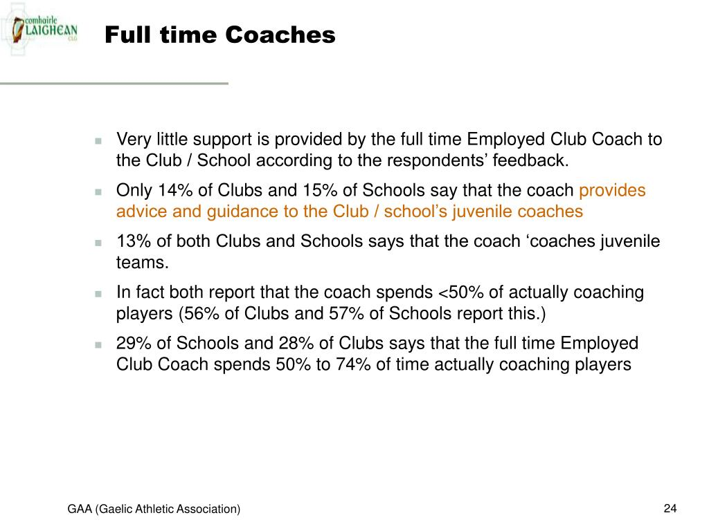 Full time Coaches