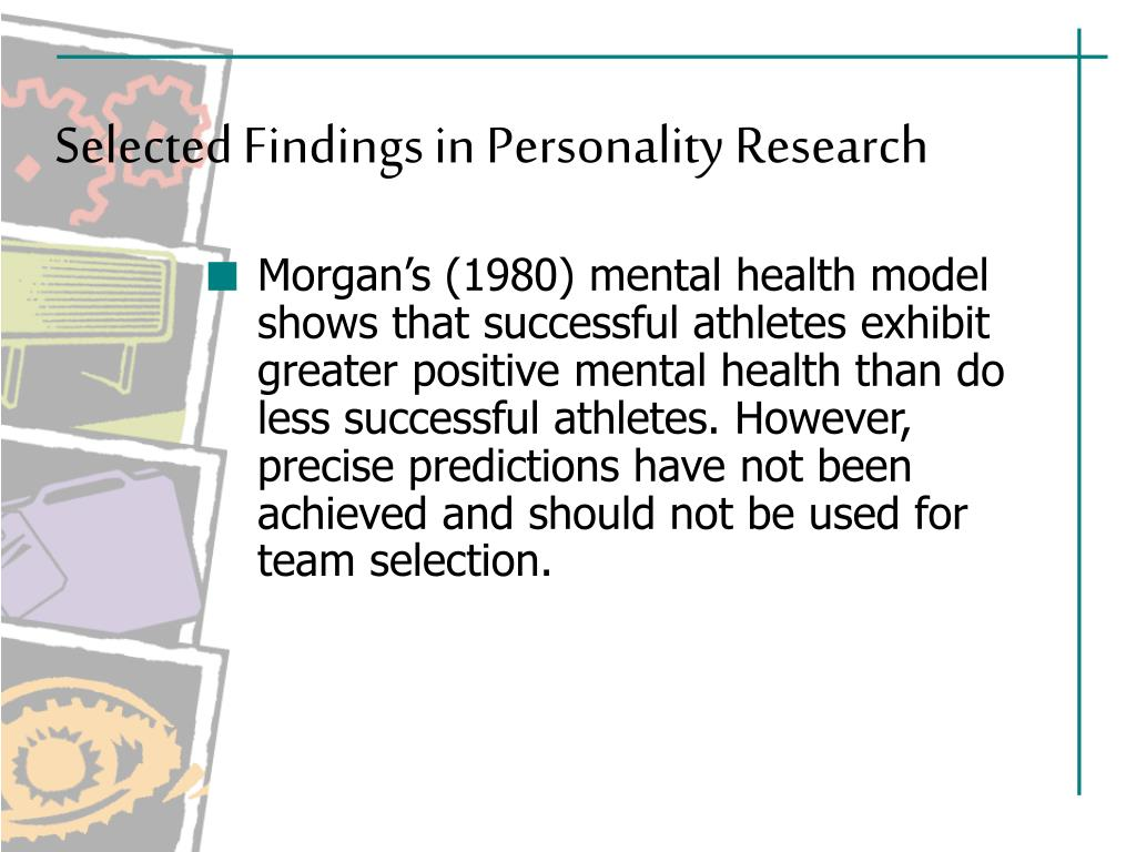 PPT - Personality and Sport PowerPoint Presentation - ID:1039611