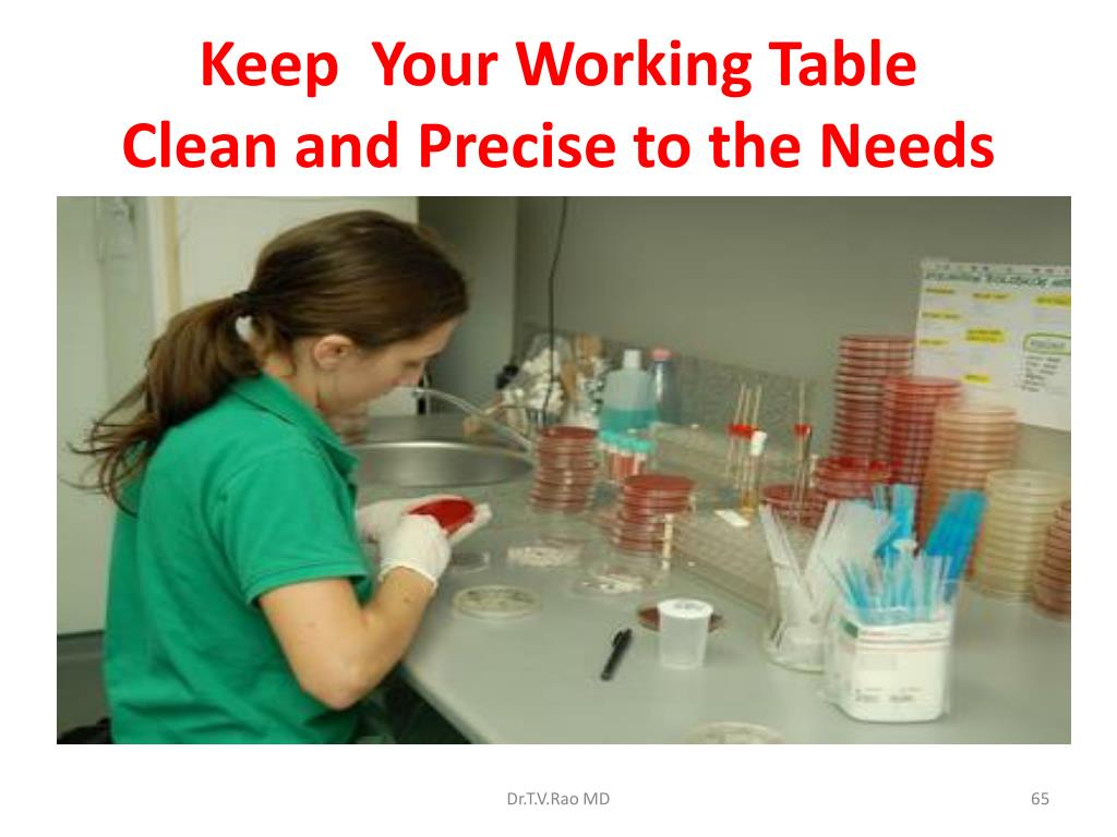 Keep  Your Working Table