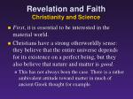 revelation and faith christianity and science2