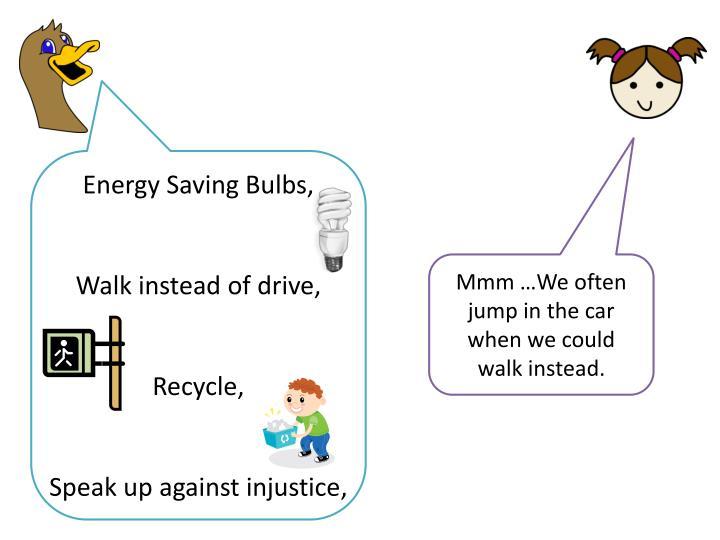 Energy Saving Bulbs,