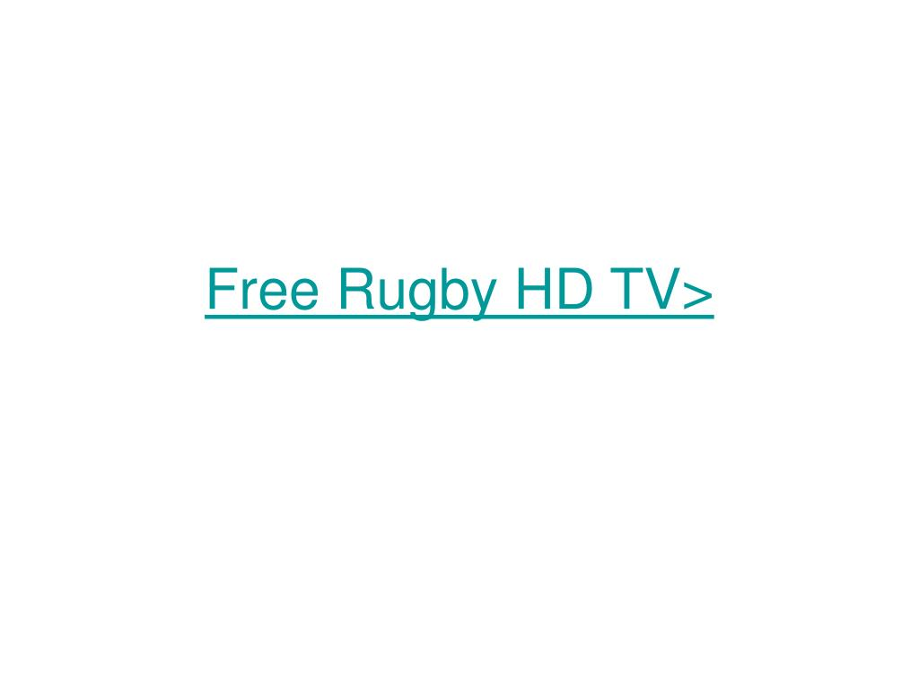 free rugby hd tv l.
