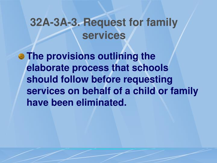 32A-3A-3. Request for family services