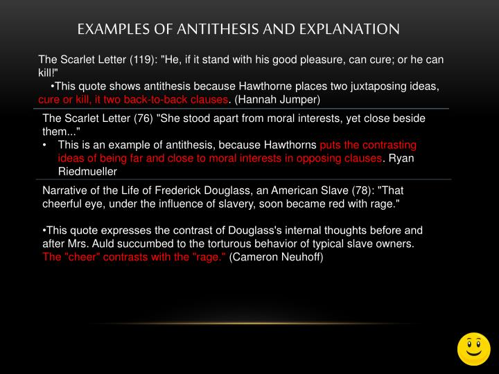 Ppt Antithesis Powerpoint Presentation Id1039986