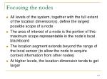 focusing the nodes1