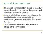 internode communication1