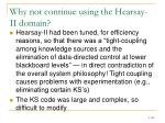 why not continue using the hearsay ii domain1