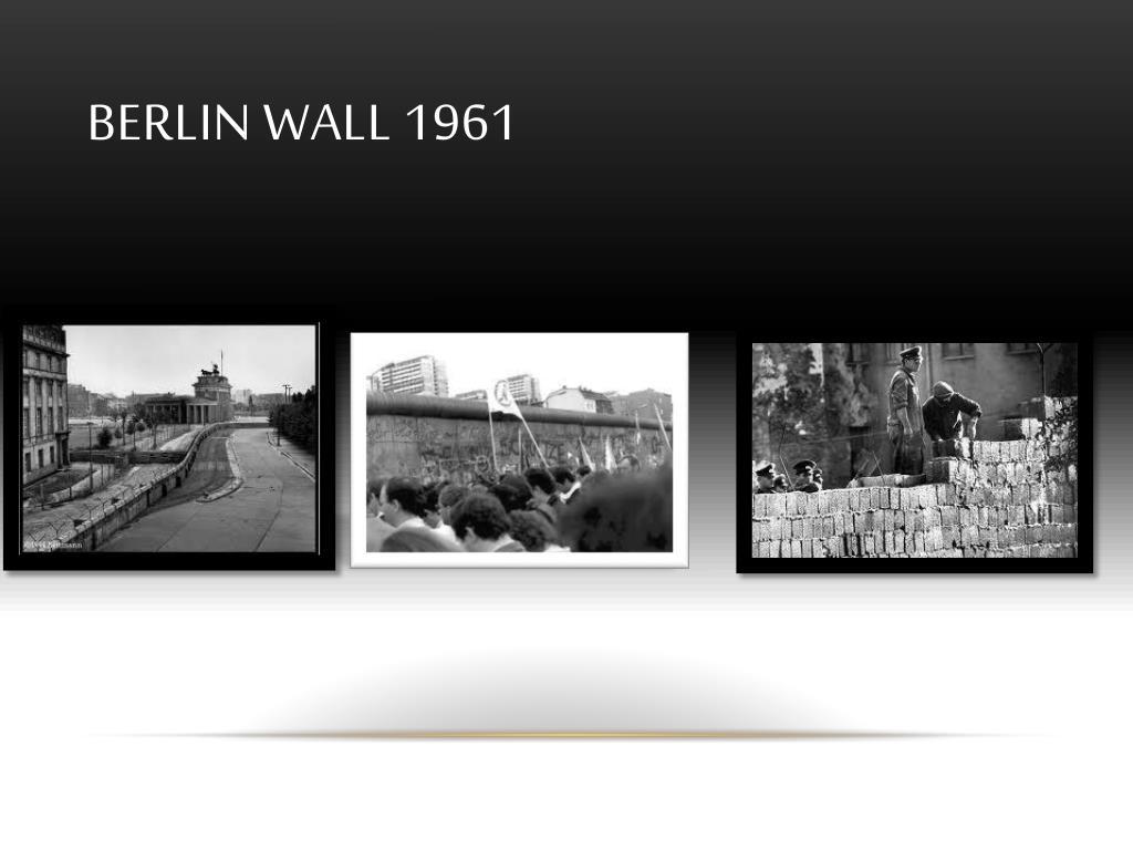 Berlin wall 1961