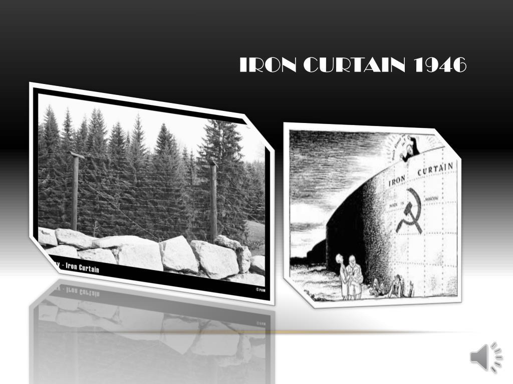 Iron curtain 1946