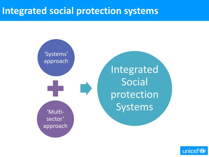 Integrated social protection systems