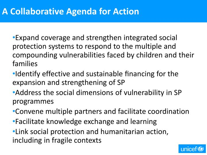 A Collaborative Agenda for Action