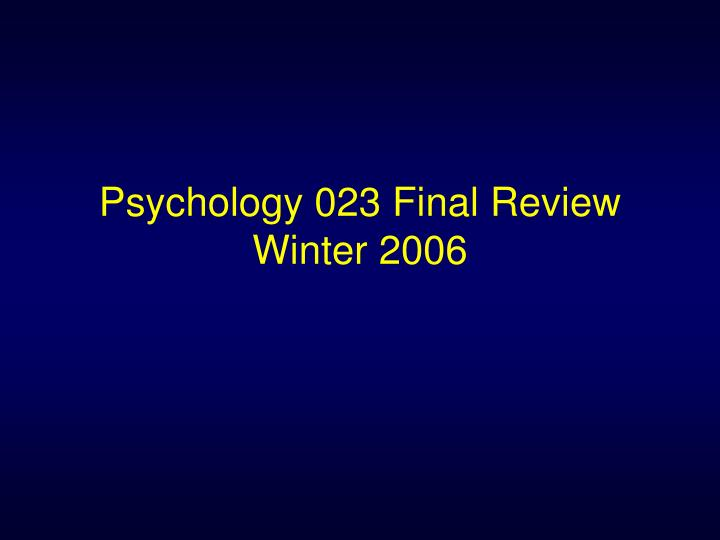 psych final review Ap psychology review wads chapter 2: 5-3-1 protocol  5-list and describe briefly the stages of the scientific method  3-list/describe 3 variables  1-list 1 positive/1 negative of case studies chapter.