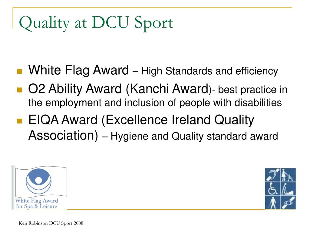 Quality at DCU Sport