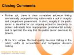 closing comments55
