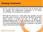 closing comments56