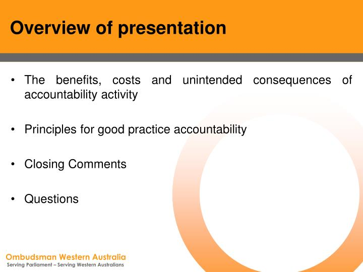 Overview of presentation3