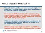 whms impact on mildura 201026