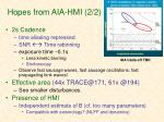 hopes from aia hmi 2 2
