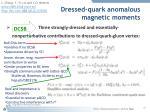 dressed quark anomalous magnetic moments2